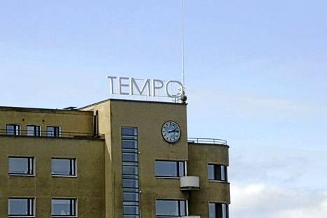 Vesikatkon ei pitäisi olla laajempi kuin itse Tempon taloa koskeva.