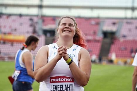 Helena Leveelahti oli yksi Suomen sankareista viime kesänä Ratinassa.