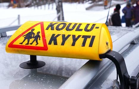 Tuomi Logistiikka vastaa myös koulukyytien järjestämisestä muun muassa Tampereella.