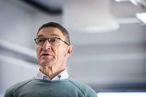 Lauri Ratia kävi viime viikolla Terrafamen kaivoksella Sotkamossa, kun yhtiö kertoi tuloksestaan. Parhaillaan hän on Yhdysvalloissa kaivosalan konferenssissa.