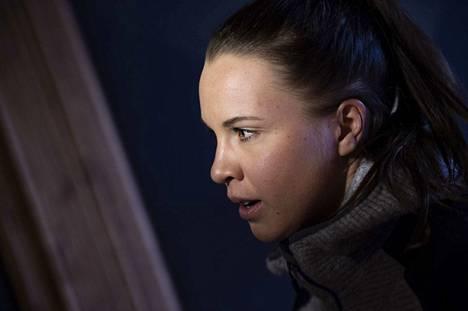 Kerttu Niskanen kilpailee tiistaina naisten 10 kilometrin perinteisen etenemistavan kilpailussa.