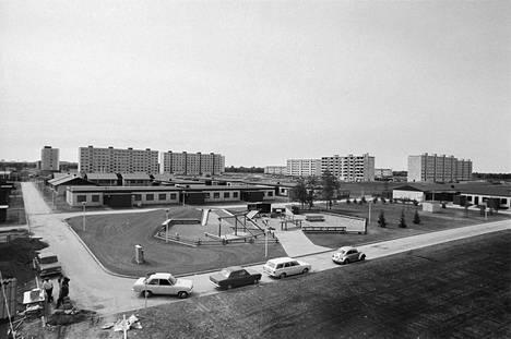 Pormestarinluodossa avattiin Porin asuntomessut yli kahden vuoden valmistelujen ja puolen vuoden tiiviin rakentamisen jälkeen 4.7.1975. Messualueen rakentajat työskentelivät viimeisiin tunteihin saakka. Noin yhdeksän hehtaarin pientaloalueen rakentaminen maksoi 40 miljoonaa markkaa.