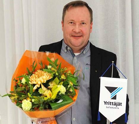 Jukka Hurrila on toiminut yrittäjänä vuodesta 2006, jolloin hän perusti Länsivalmennus Oy:n.