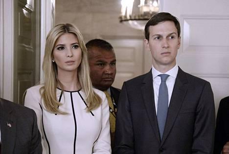 Presidentti Trump vaati viime vuonna vävylleen Jared Kushnerille turvaluokituksen, uutisoi New York Times.