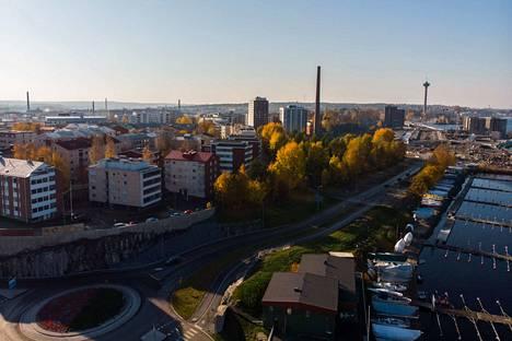 Tampereen markkina-alueella Aamulehden kokonaistavoittavuus oli 80 prosenttia viime vuonna.