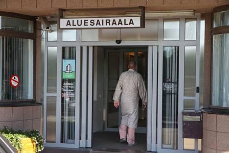 Rauman aluesairaalan kyltti vaihtuu juhlallisesti tiistaina 5. maaliskuuta kello 13.