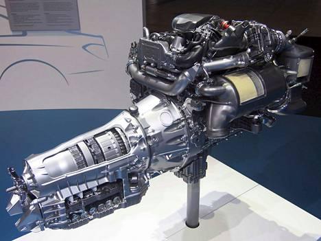 Vuonna 2016 Stuttgartissa kuvattu Mercedesin OM 654 -dieselmoottori edustaa perinteisten polttomoottorien uutta aaltoa.
