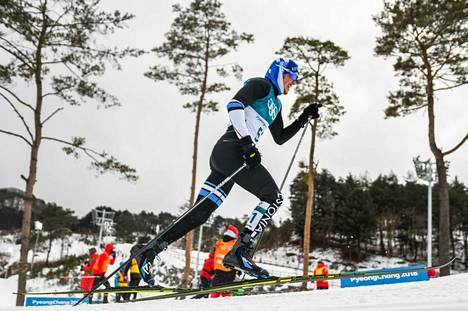 Andreas Veerpalu kilpaili olympialaisissa viime talvena.