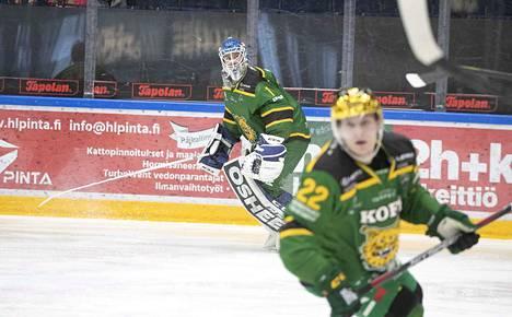 Lukas Dostal kirjautti KalPa-voitossa 29 torjuntaa ja syöttöpisteen.