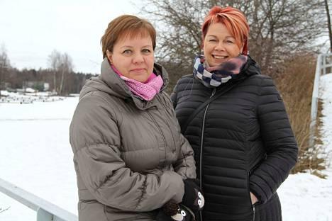 –Illaksi olemme varanneet ohjatun ryhmätunnin kuudelle, vapaapäivänään Valkeakosken keskustaan poikenneet Tiina Savikko ja Birgitta Salonen kertoivat.