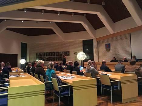 Säkylän kunnanvaltuusto päättää perusturvajohtajan viran saajasta huhtikuussa. Kuvituskuva.