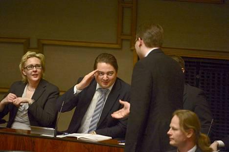 Ville Vähämäki (ps.) ei syyttäjän mukaan erehdyttänyt eduskuntaa saadakseen aiheetonta taloudellista hyötyä.
