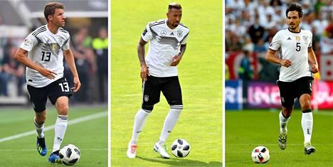 Saksan päävalmentaja Joachim Löw ilmoitti, ettei löydä enää käyttöä maajoukkuetta vuosia edustaneille Thomas Müllerille, Jerome Boatengille ja Mats Hummelsille.
