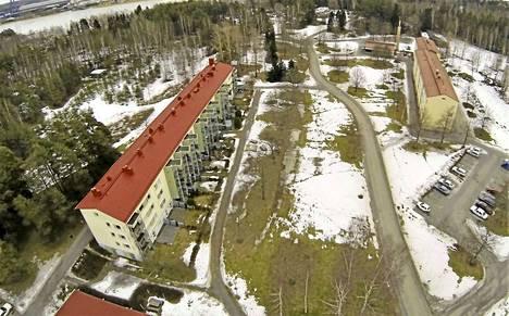 Vasemmanpuoleinen As Oy Viheriäisten puisto remontoitiin Raision asuntomessuja varten 1997. Oikeanpuoleinen As Oy Viheriäisten tammi on lähes alkuperäisessä ulkoasussaan. Neste myi Viheriäisten alueen vuonna 2003 yksityisille kiinteistösijoittajille.