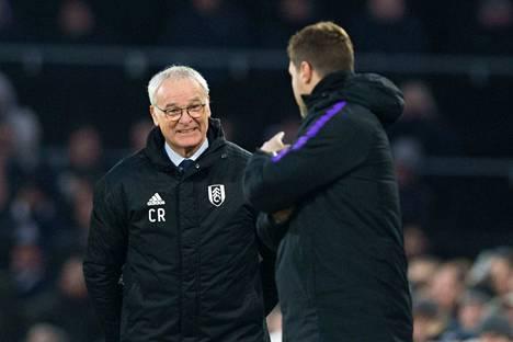 Claudio Ranieri oli vielä viime viikolla Fulhamin päävalmentaja.