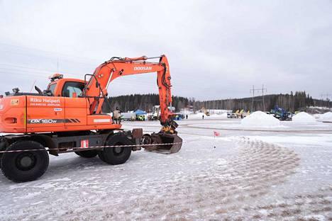 Kaivureiden SM-kisat jyrähtivät käyntiin lauantaina kello 10.