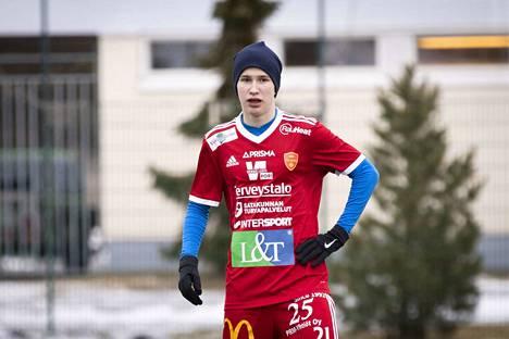 Daniil Musatkin on yksi FC Jazzin uusista tuttavuuksista.