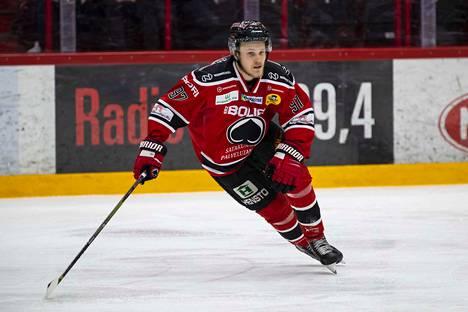 Jouka Juhola oli vaisun joukkueen paras pelaaja Sportia vastaan.