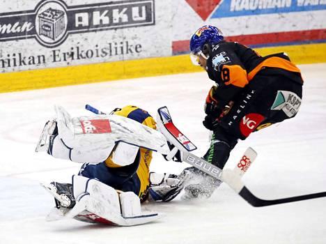 Joonas Oden teki KooKoolle kaksi maalia. Lukon maalilla Lassi Lehtinen oli voimaton.