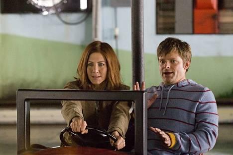 Uraohjus Sue (Jennifer Aniston) kohtaa Miken (Steve Zahn) draamakomediassa.