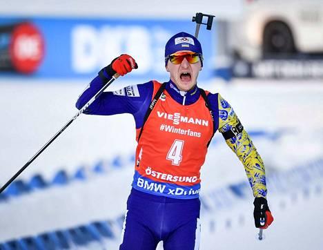 Dmitro Pidrutshni on ampumahiihdon maailmanmestari.