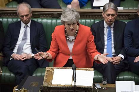 Pääministeri Theresa Mayn brexit-sopimus ei kelvannut eilenkään brittiparlamentille.