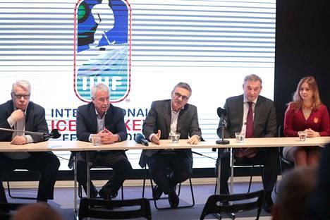 Kansainvälisen jääkiekkoliiton hallitus on kokoontunut Tampereelle.