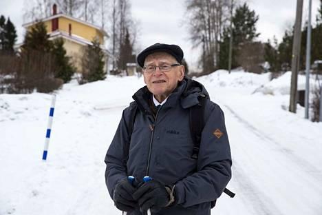 Pirkkalalainen Mauno Rissanen on asunut Toiviossa lähes 50 vuotta.