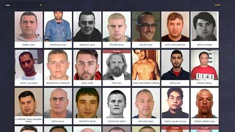 Euroopan etsityimpien listaa verkossa ylläpitävät kaikkien unionin maiden etsintäkuulutettujen etsintään erikoistuneet Enfast-ryhmät.