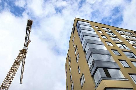 Uudet opiskelija-asunnot koostuvat pääasiassa yksiöistä, soluja rakentavat enää hyvin harvat. Arkistokuva tamperelaisesta opiskelija-asuntosäätiön rakennuksesta.