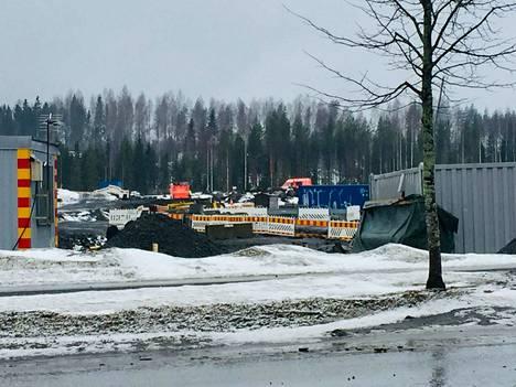 Pelastuslaitos sai hälytyksen onnettomuudesta lauantaina kello 10.22.