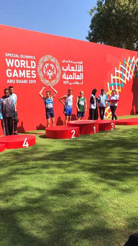 Ville Pere sijoittui 3 000 metrin matkalla toiseksi.