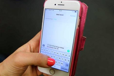Lähetä mielipiteesi tekstarilla Jämsän Seutuun. Lähetä tekstiviesti numeroon 17192, kirjoita alkuun sanat JS ASIA ja sitten viestisi.