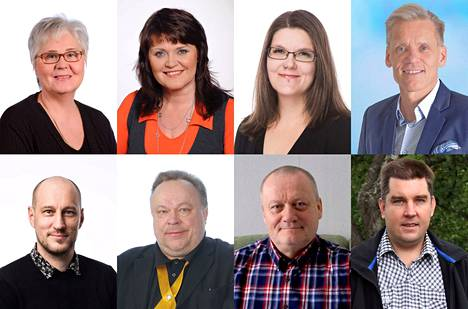 Valkeakoskelta on Pirkanmaan vaalipiiristä pyrkii eduskuntaan kahdeksan ehdokasta.