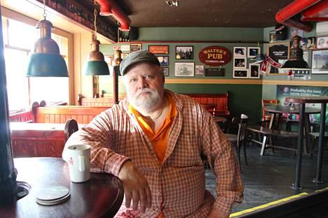 Hannu Latvakoski on suunnitellut pubinsa uudistamista jo pitkään. Nyt oli oikea aika.