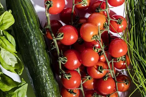 Tomaattia, basilikaa ja kurkkua ei kannata säilöä jääkaapissa.