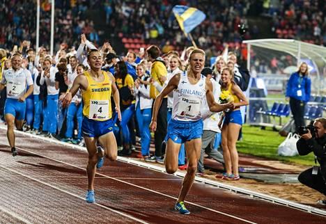 Suomen ja Ruotsin yleisurheilumaaottelulla on pitkä ja värikäs historia.