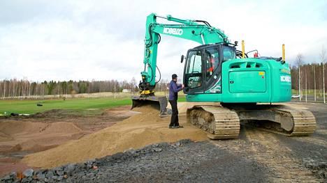 Kaudella 2021 golfaajat saavat harjoitella täysin uusitulla harjoitusalueella.