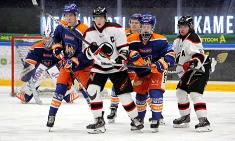 Tapparan ja Ässien liiganuorten välinen tiukka kamppailu päättyi lopulta rankkareilla porilaisten hyväksi maalein 3–2.