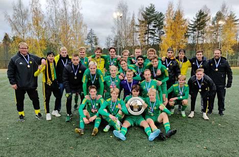 Ilveksen joukkue varmisti P20-ikäluokan Suomen mestaruuden murskaamalla KuPS:n kauden päätöksessä maalein 6–1.
