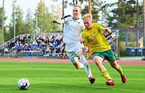 Leo Kyllösen keltapaidat saalistivat tärkeän potin syksyn toiseksi viimeisellä kierroksella kaatamalla Kalle Koskelan Hongan 5–1.