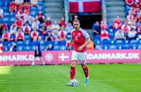 Christian Eriksen on Tanskan hyökkäyspelin sielu.