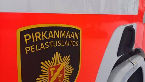 Pirkanmaan pelastuslaitoksella oli tehtävä Moitusmaantiellä Vammalassa.