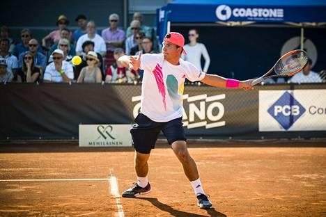 Tampereen Tennisseuran Patrik Niklas-Salminen osallistuu myös tänä vuonna Tampere Openiin.