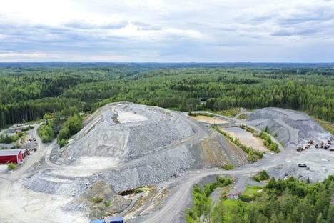 KHO ei myöntänyt Oriveden kultakaivokselle ympäristölupaa enää vuonna 2019 ympäristöhaittojen takia. Kaivos kuvattuna 15.7.2019.