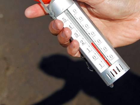 Uimavesien lämpötiloja mitattiin Nokialla tiistaina. Kuvituskuva.