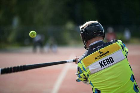 Ville Kero oli kovassa vireessä Simossa. Lyöjäjokeri pamautti yhteensä seitsemän juoksua.