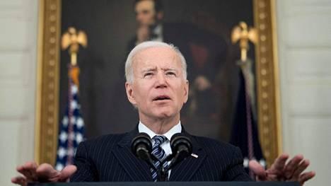 Joe Biden on tällä viikolla ollut presidenttinä sata päivää.