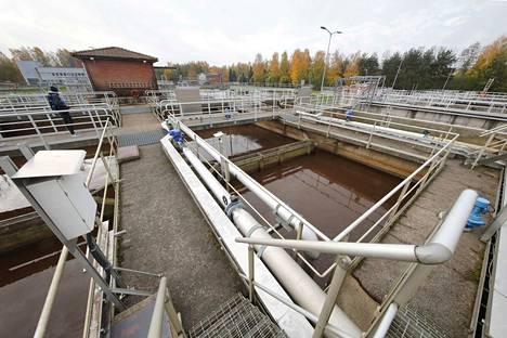 Kuvituskuva Luotsinmäen jätevedenpuhdistamolta.