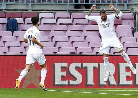 Sergio Ramos nousi pääosaan El Clasicossa.